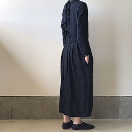 the last flower of the afternoon - かげとひかりのclassic one-piece dress