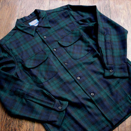 PENDLETON - BOARDSHIRT ( Blackwatch Tartan)