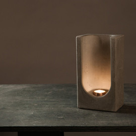 PlywoodOffice - Wall Mounted Tealight Totem