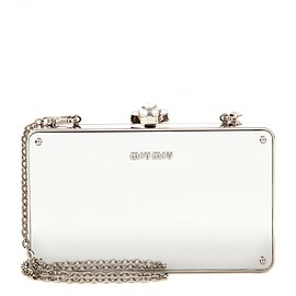 miu miu - Mirrored box clutch