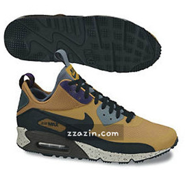 Nike - Air Max 90 Mid - Tan/Black/Brown/Purple/Turqoise?
