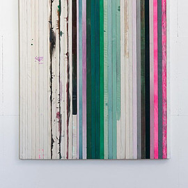 Dejan Dukic - Storage Painting Nr.14, 2012, acrylic, fluid pigment and oil on canvas