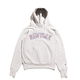 Champion - Reverse Weave Pull Over Sweat Parka Printed-OAT