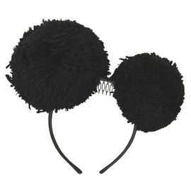 Piers Atkinson - Floral Headbands w/Feather Pompoms-13