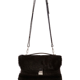 PROENZA SCHOULER - FW2015 Pony Hair And Embossed Croc Kent Bag