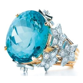 Tiffany & Co. - Star & Aquamarine