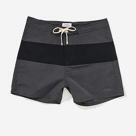 Saturdays Surf NYC - Grant Board Shorts, Charcoal/Midnight