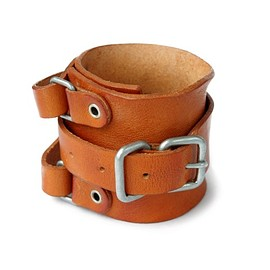 PEEL&LIFT - Leather Wrist Strap (camel)
