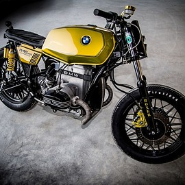 "NCT Motorcycles - BMW R45 RS #10  ""GOLDIE"""