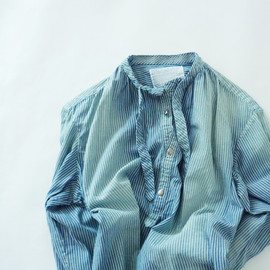 kolor - Dungaree Damaged Pullover Shirts