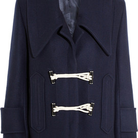 CARVEN - Wool-blend duffle coat