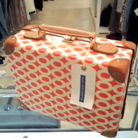 "18"" TROLLEY CASE ocean view & 16"" SLIM ATTACHE CASE ropey"