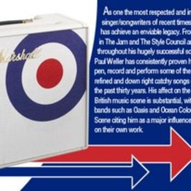 Marshall - Paul Weller Releases Limited Edition Marshall Amp