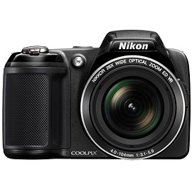 Nikon - Nikon COOLPIX L810 16.1 MP Digital Camera with 26x Zoom NIKKOR ED Glass Lens and 3-inch LCD (Black)