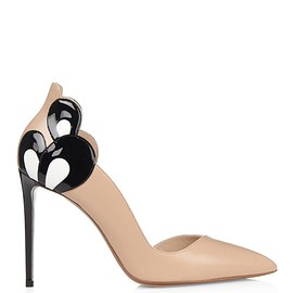 Nicholas Kirkwood - Petal point-toe leather pumps