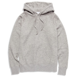 UNIVERSAL PRODUCTS - SWEAT SHIRTS PARKA[GREY]