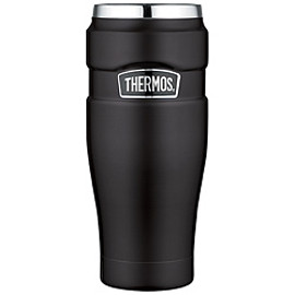 Thermos - Vacuum Insulated Travel Tumbler 16 oz Black