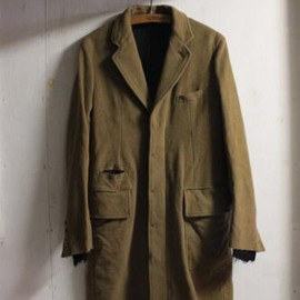 TAKAHIROMIYASHITA The SoloIst. - chesterfield coat. -camel.-
