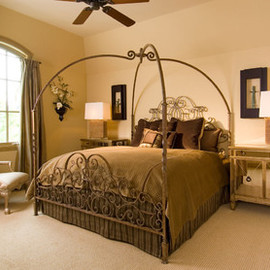 Designing Texas Show House traditional bedroom
