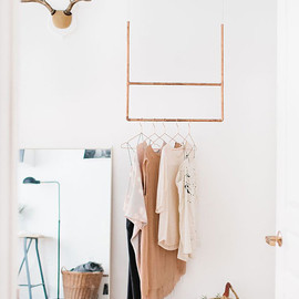 Madelynn Furlong's Apartment by The Everygirl - hanging