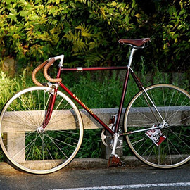 HummingBird/Silver Flyer track bike