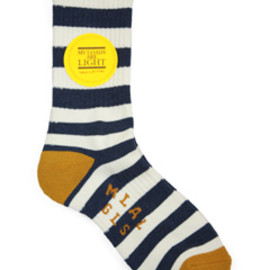 MY LOADS ARE LIGHT - Border Sox (navy)