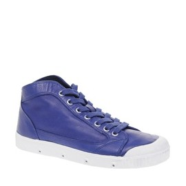 Spring Court  - Glove Hi Top Leather Trainers