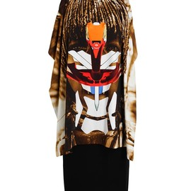 GIVENCHY - Masai Printed Jersey Dress