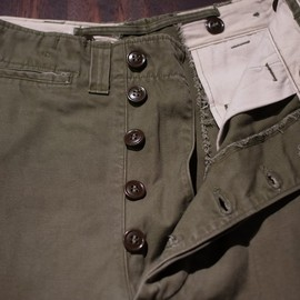 US.ARMY - 40's  M-45 Field Trousers