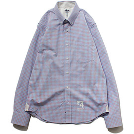 STUSSY DELUXE - Mens Check L/SL Shirt