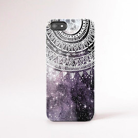 csera - iPhone 6 Case Galaxy Print iPhone Case Tribal iPhone Case Tough iPhone 6 Case Moon iPhone Covers