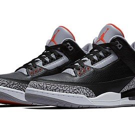 "Nike - Air Jordan 3 Retro OG ""Black Cement"" 2018"