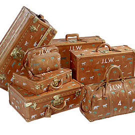 "LOUIS VUITTON - ""The Darjeeling Limited"" Luggage Collection"