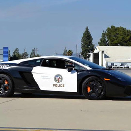 Lamborghini - The LAPD adds a swanky Lamborghini Gallardo to its patrol car