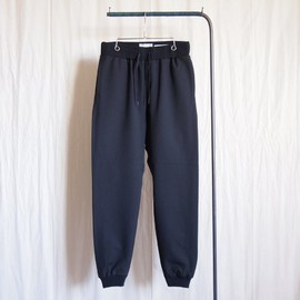 YAECA - 2way Rib Pants #navy