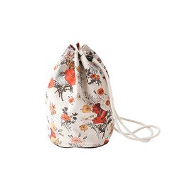 beautiful people - botanical pt. beach bag color.beige