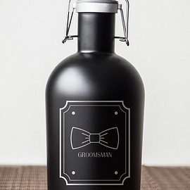 CATHY'S CONCEPTS - Groomsman Stainless Steel Growler
