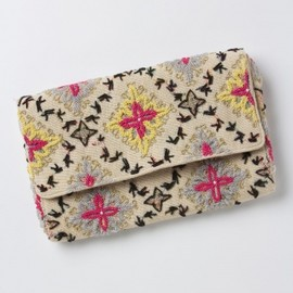 ANTHROPOLOGIE - Tetrapoint Embroidered Clutch