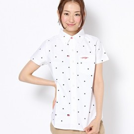 TOMMY - USA EMB.OX SHIRT S/S HER