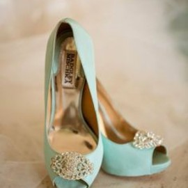 BADGLEY MISCHKA - mint blue ❤