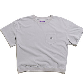 THE NORTH FACE PURPLE LABEL - High Bulky H/S Pocket Tee-Gray