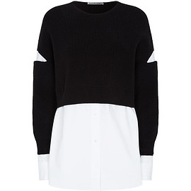 Alexander Wang - Layered Ribbed Sweater