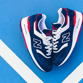 New Balance - New Balance M997CYON 'Explore By Air' - Blue/Red/White