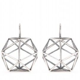 BOTTEGA VENETA - GEODOME EARRINGS