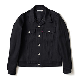 HEAD PORTER PLUS - DENIM JACKET BLACK