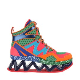 "MARC BY MARC JACOBS - FW2014 Multicolored high top ""Ninja"" sneakers"
