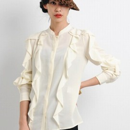SEE BY CHLOE - Ruffle-Detailed Silk Blouse