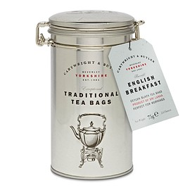 Cartwright & Butler - English Breakfast Tea Bags in Caddy
