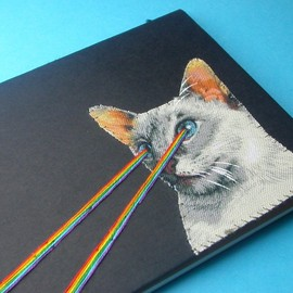 Bruce Weber - laser-eye kitten pocket journal