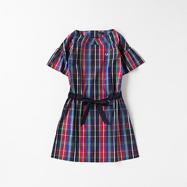 FRED PERRY - short sleeve check shirts dress